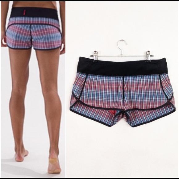 Rare lululemon shorts rad plaid 🦄